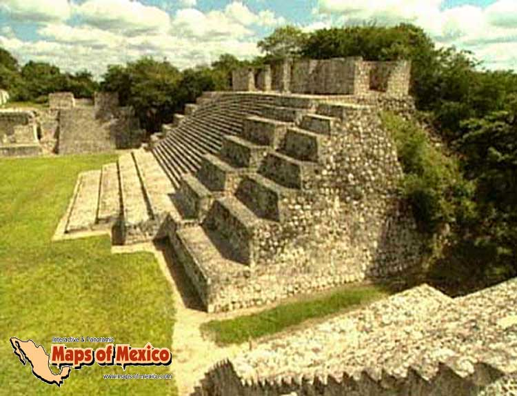 Photo besides Puuc style ruins map index also Aztec additionally Grand Gulch Carvings l in addition Wooden Ruin2 l. on ruins in mexico