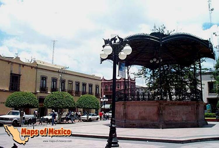 Fotos de queretaro mexico galeria fotografica de for Jardin zenea queretaro