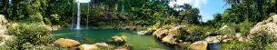 Cascada de mizol Ha, palenque, mexico