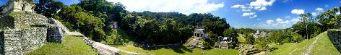 Sitio arqueologico de palenque 2, palenque, mexico