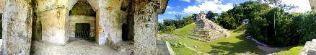 Sitio arqueologico de palenque 4, palenque, mexico
