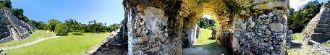 Sitio arqueologico de palenque 6, palenque, mexico