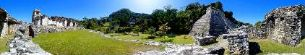Sitio arqueologico de palenque 7, palenque, mexico